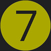 7 icon green