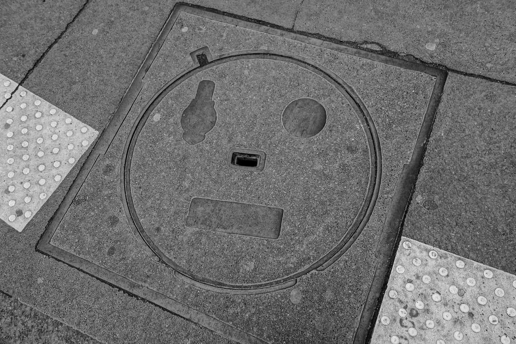Man Hole Face, New Orleans, LA