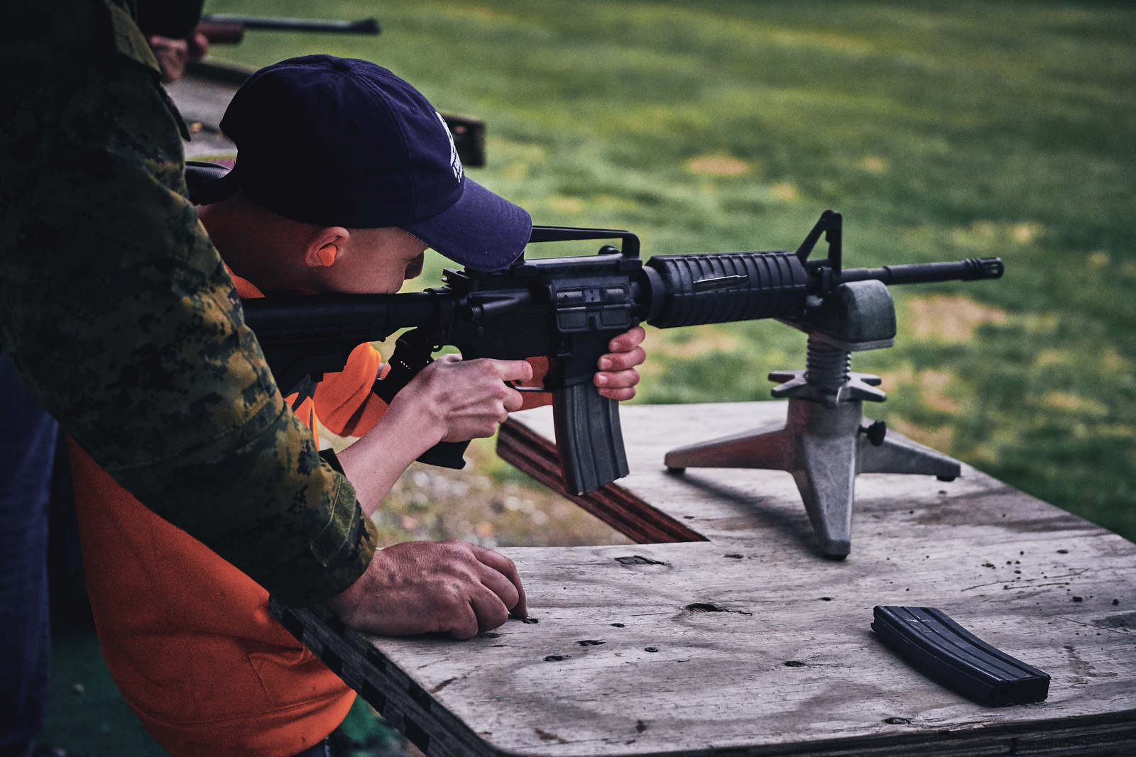 A Soldier's Child Hunters Safety Camp 2017