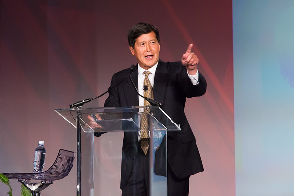Dr. Wang, president of InTouch Health, addresses ATA 2015