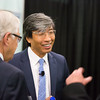 Dr. Patrick Soon-Shiong greets ATA board members