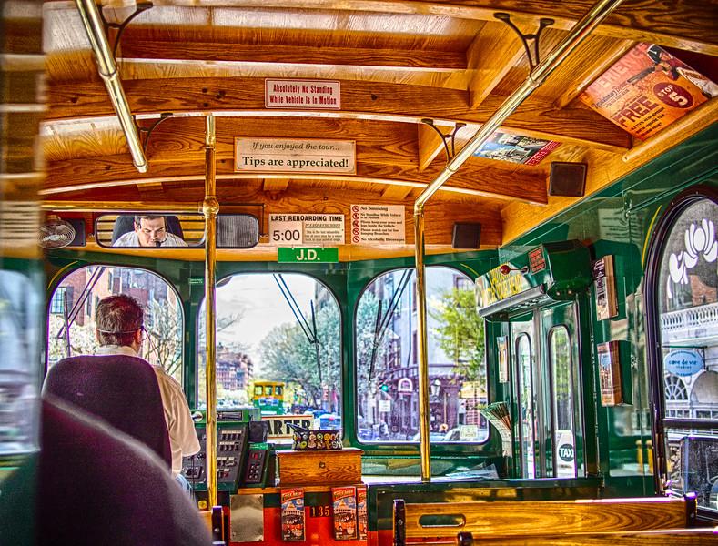 Trolley tour, Boston, MA