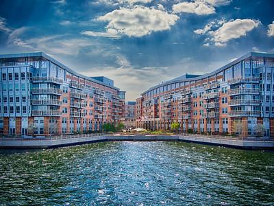 View from a Boston Harbor tour, Boston, MA