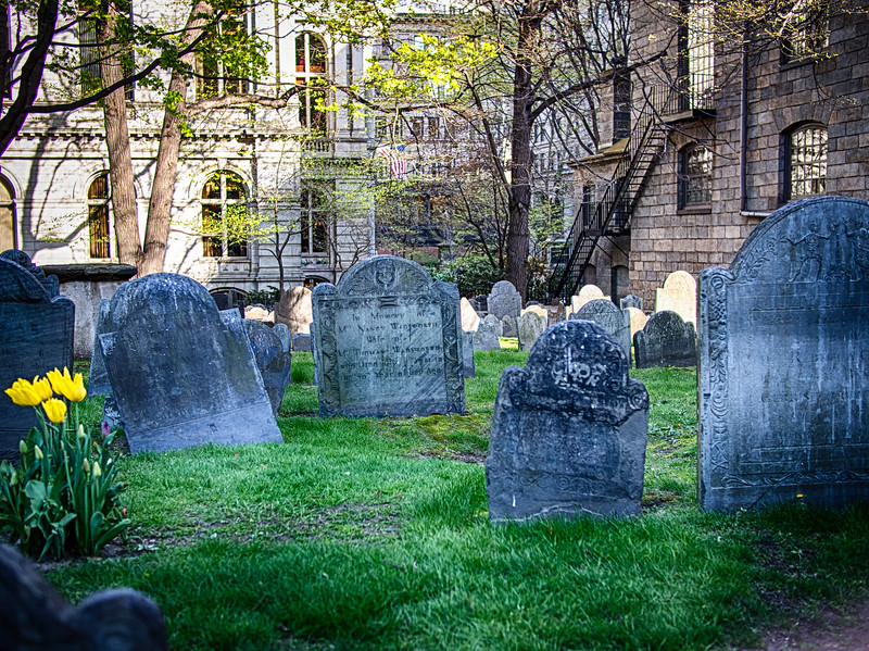 Boston, MA graveyard