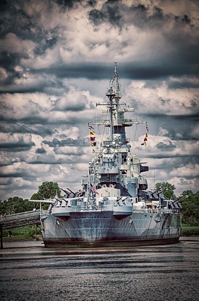 USS North Carolina Battleship - Downtown Wilmington, NC