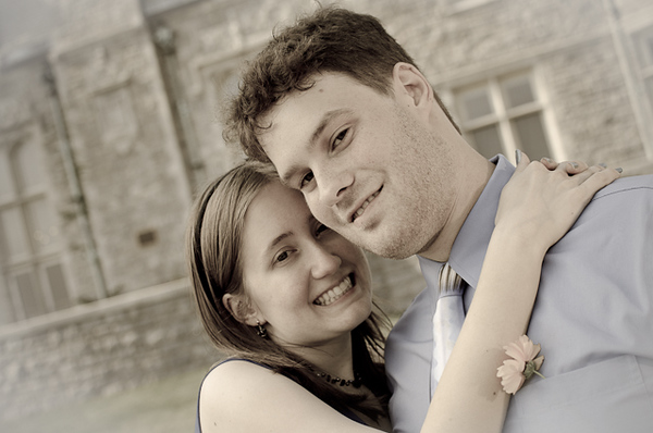 Engagement photo shoot, July 2011. Portraits and Engagements