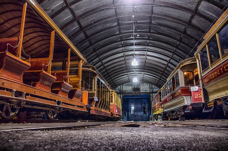 Trolley Glow - Shoreline East Museum--9