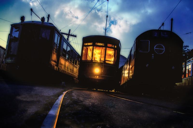 Trolley Glow - Shoreline East Museum--6