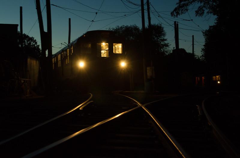 Trolley Glow - Shoreline East Museum-77484