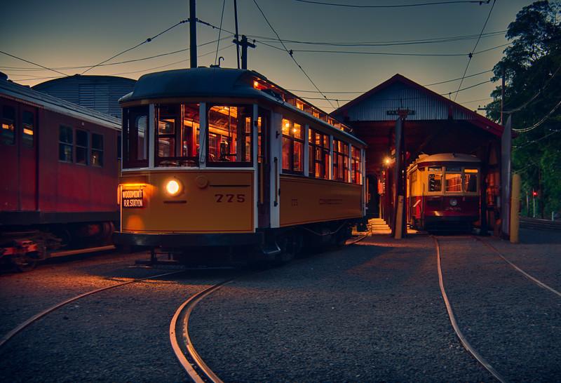 Trolley Glow - Shoreline East Museum--4