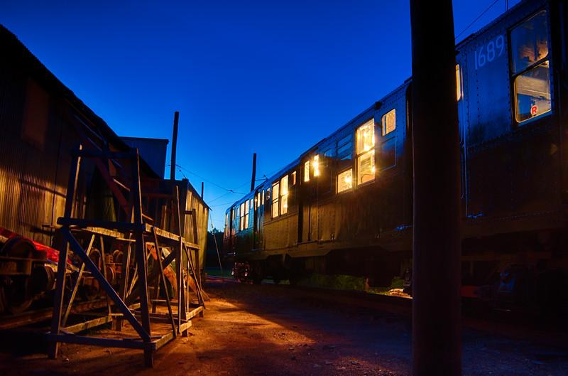Trolley Glow - Shoreline East Museum--16