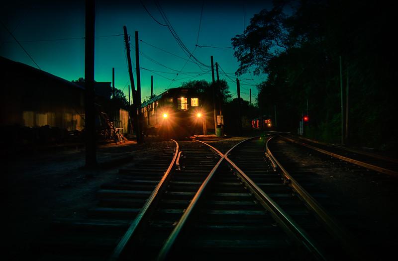 Trolley Glow - Shoreline East Museum--14