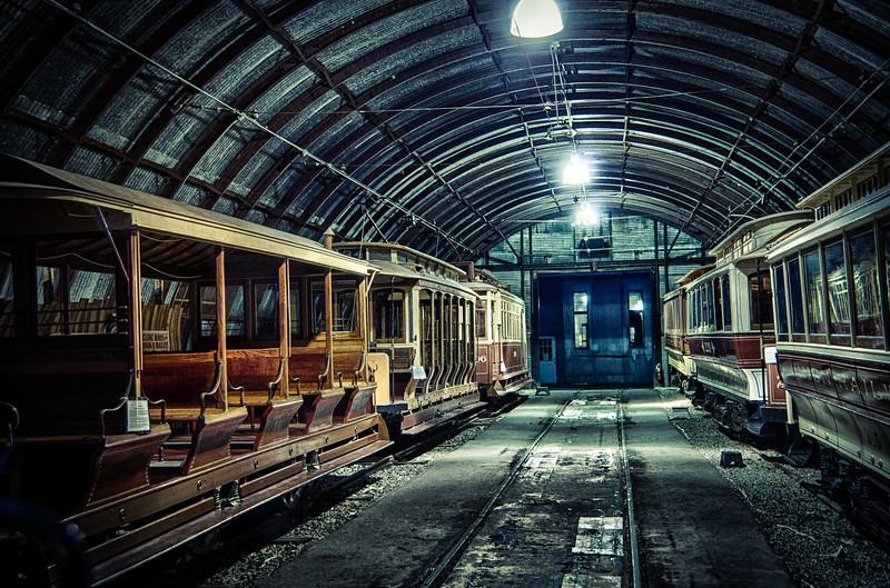 Trolley Glow - Shoreline East Museum--8