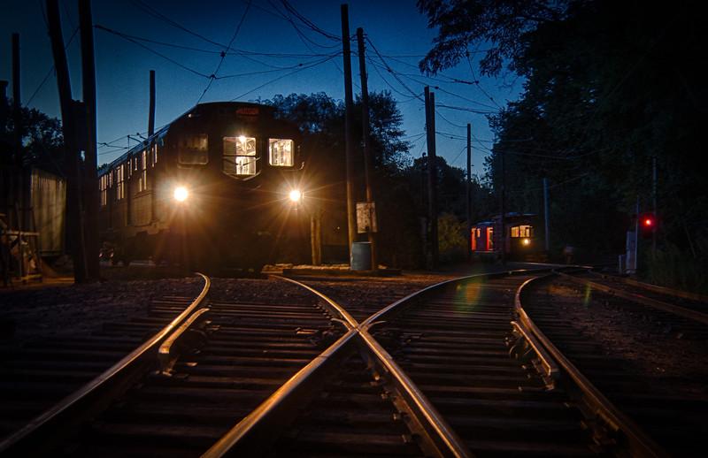 Trolley Glow - Shoreline East Museum--15