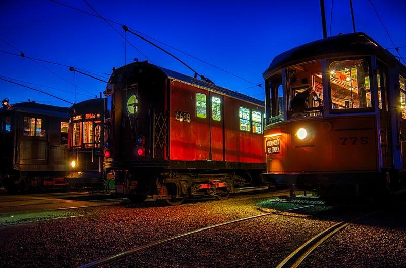 Trolley Glow - Shoreline East Museum--18