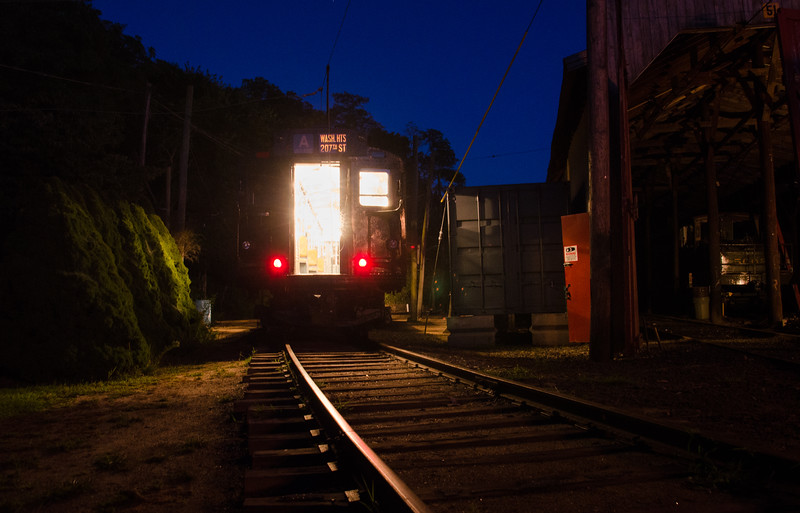 Trolley Glow - Shoreline East Museum-77527