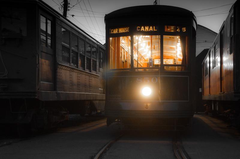 Trolley Glow - Shoreline East Museum-77430