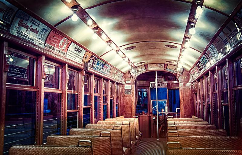 Trolley Glow - Shoreline East Museum--5