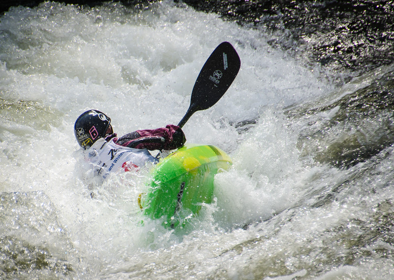 White Water Triple Crown - Tariffville Gorge, Farmington River - CT  April 13, 2014