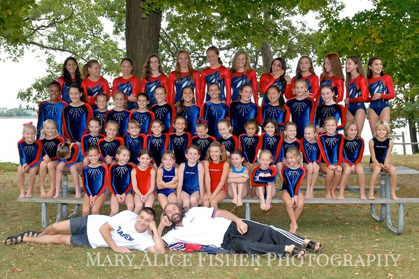 Darien Y Gymnastics Teams '10