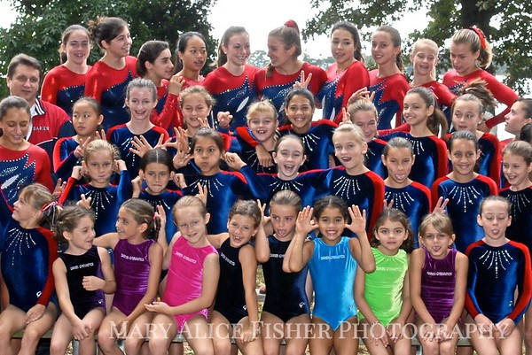 Darien Y Gymnastics Teams '08