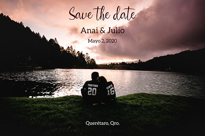 Save the date A&J (Presa El Cedral, Hidalgo)89