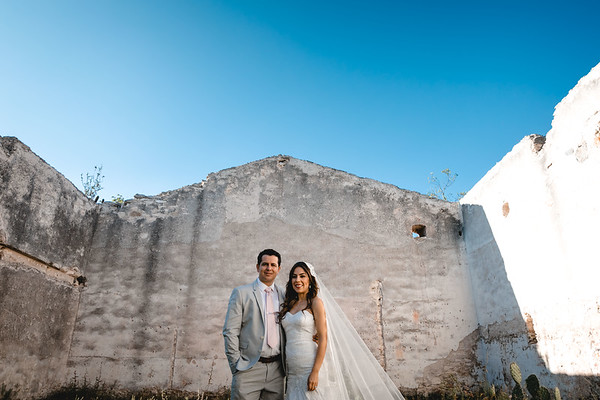 P&H Trash the Dress (Mineral de Pozos, Guanajuato )-3