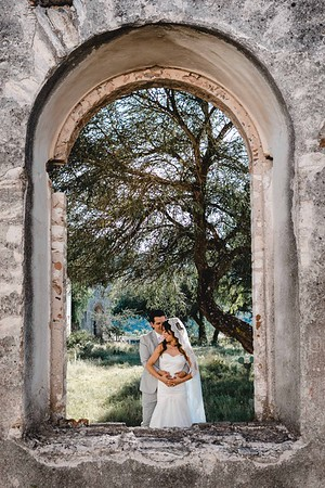P&H Trash the Dress (Mineral de Pozos, Guanajuato )-9
