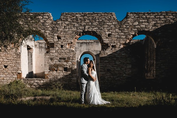 P&H Trash the Dress (Mineral de Pozos, Guanajuato )-11