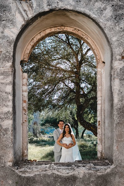 P&H Trash the Dress (Mineral de Pozos, Guanajuato )-6