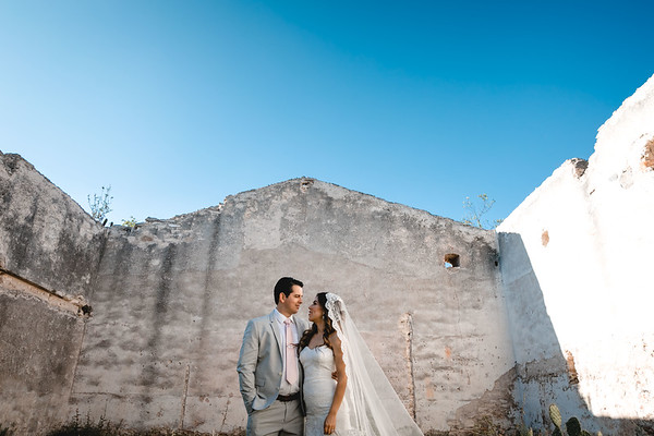P&H Trash the Dress (Mineral de Pozos, Guanajuato )-4