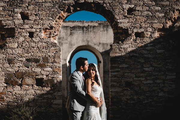 P&H Trash the Dress (Mineral de Pozos, Guanajuato )-13