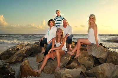 Clarrisa's and Mike's Naples Beach Family Photo Session