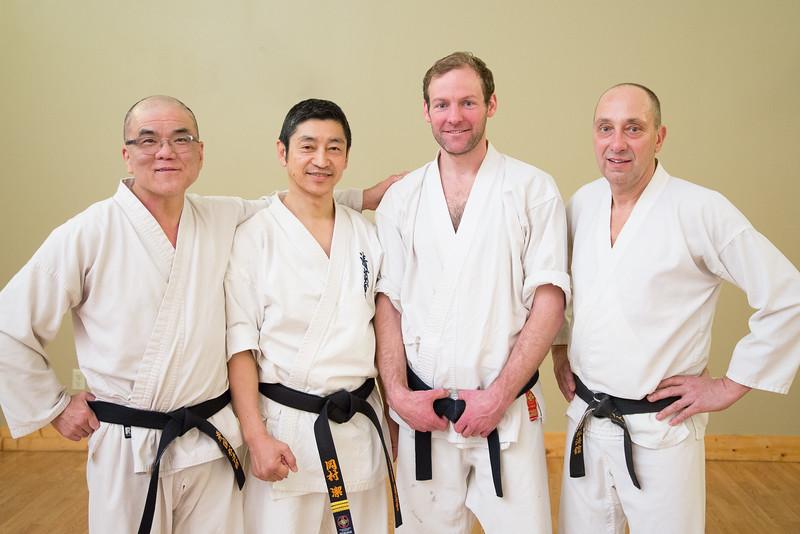 Karate portrait
