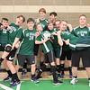 Boys varsity Volleyball Playoffs or Aidan B friend quote