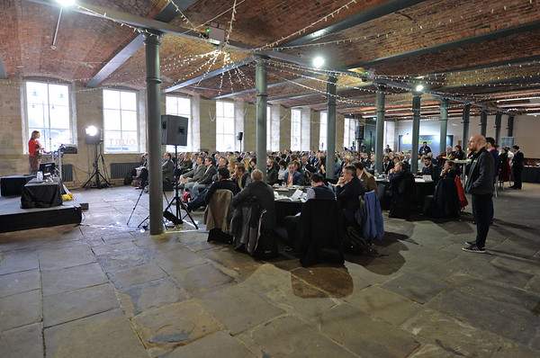Mills Development Conference, The Arches Dean Clough Mills, Halifax.<br /> 14.01.20