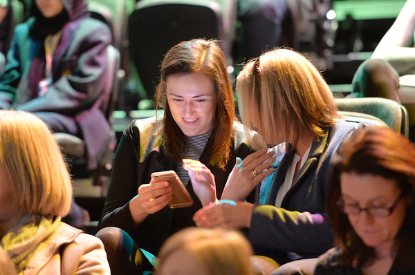 Women in Sport Conference at Bradford Alhambra Studio.<br /> 07.03.16