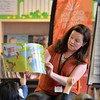 Bradford Literature Festival. <br /> Alison Brown<br /> 01.07.17<br /> Picture by Roger Moody