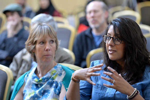 Bradford Literature Festival. <br /> <br /> 01.07.17<br /> Picture by Roger Moody