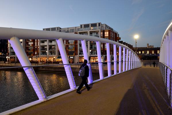 Britannia Bridge: Bedford - January 2018