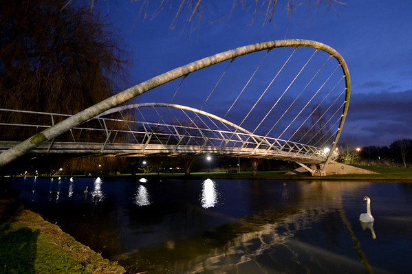 Butterfly Bridge : Bedford - January 2018