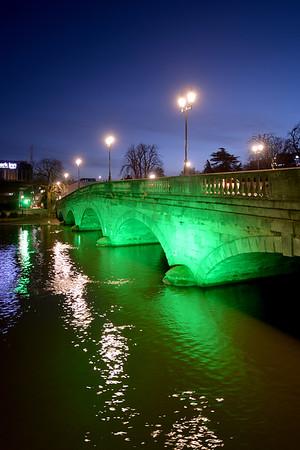 Town Bridge : Bedford - January 2018