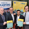 Launch of Northern Max 2<br /> L-r Richard Sutcliffe, Kyran Parker, Ravinder Panesar and Cllr Alex Ross-Shaw.<br /> 03.12.18