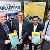Launch of Northern Max 2<br /> <br /> L-r Richard Sutcliffe, Kyran Parker, Ravinder Panesar and Cllr Alex Ross-Shaw.<br /> <br /> 03.12.18