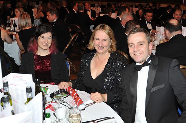 UK Northern Powerhouse Christmas Dinner at Leeds Town Hall. 14.12.16