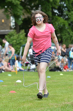 Wacky Races Day at West End Park, Cleckheaton.<br /> 03.06.17