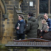 Madeleine the donkey visits Whitechapel Church, Cleckheaton on Palm Sunday 28.03.21