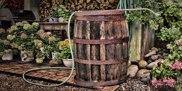 23164 Rain Barrel 10x20