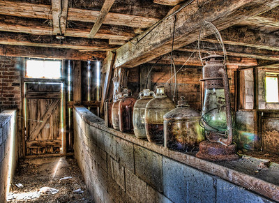 Forgotten bottles 12x16 5