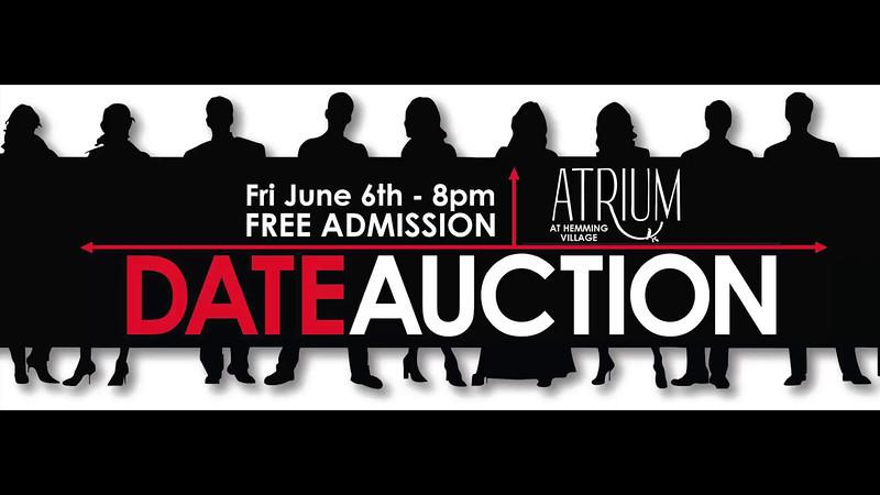 College Date Auction - The Atrium at Hemming Village
